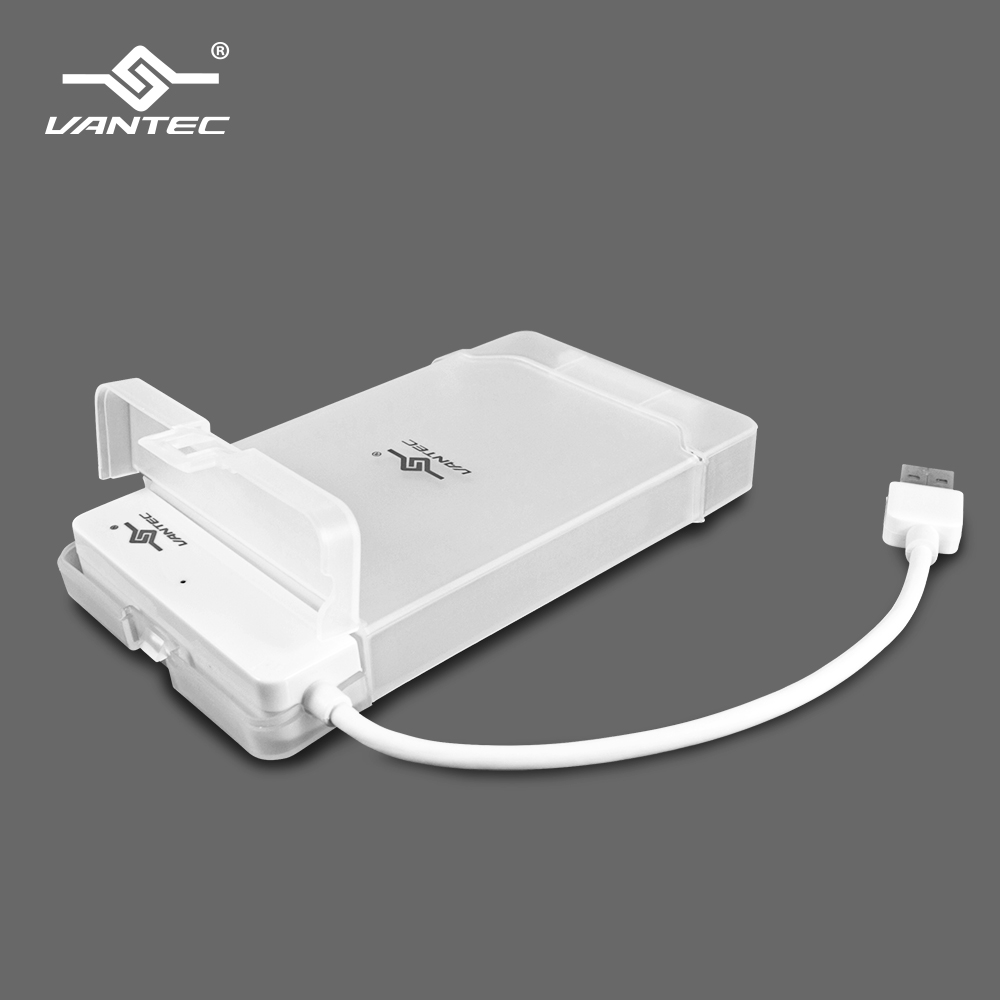 VANTEC 凡達克 2.5吋硬碟轉USB3.0外接盒(CB-STU3-2PW)/WH
