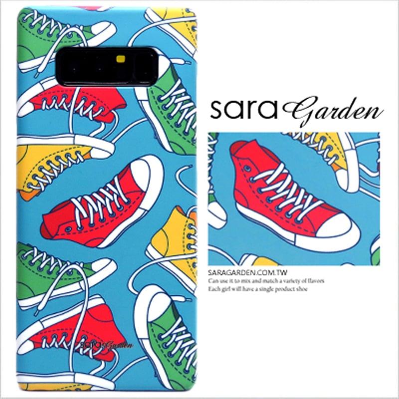 【Sara Garden】客製化 手機殼 HTC 10 Pro 潮流帆布鞋 保護殼 硬殼