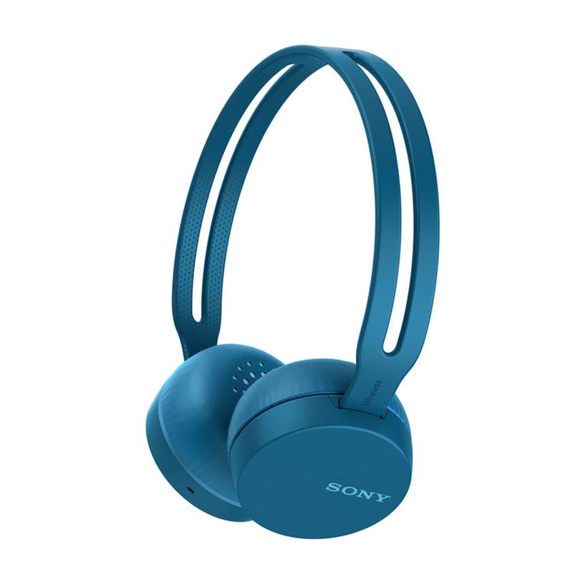 【SONY 索尼 】無線耳罩式耳機 WH-CH400 藍色