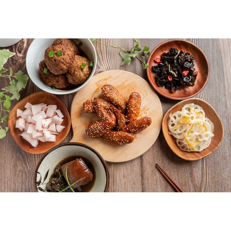 【璽飯】個人小包裝功夫菜料理包組合(12款品項各1包)