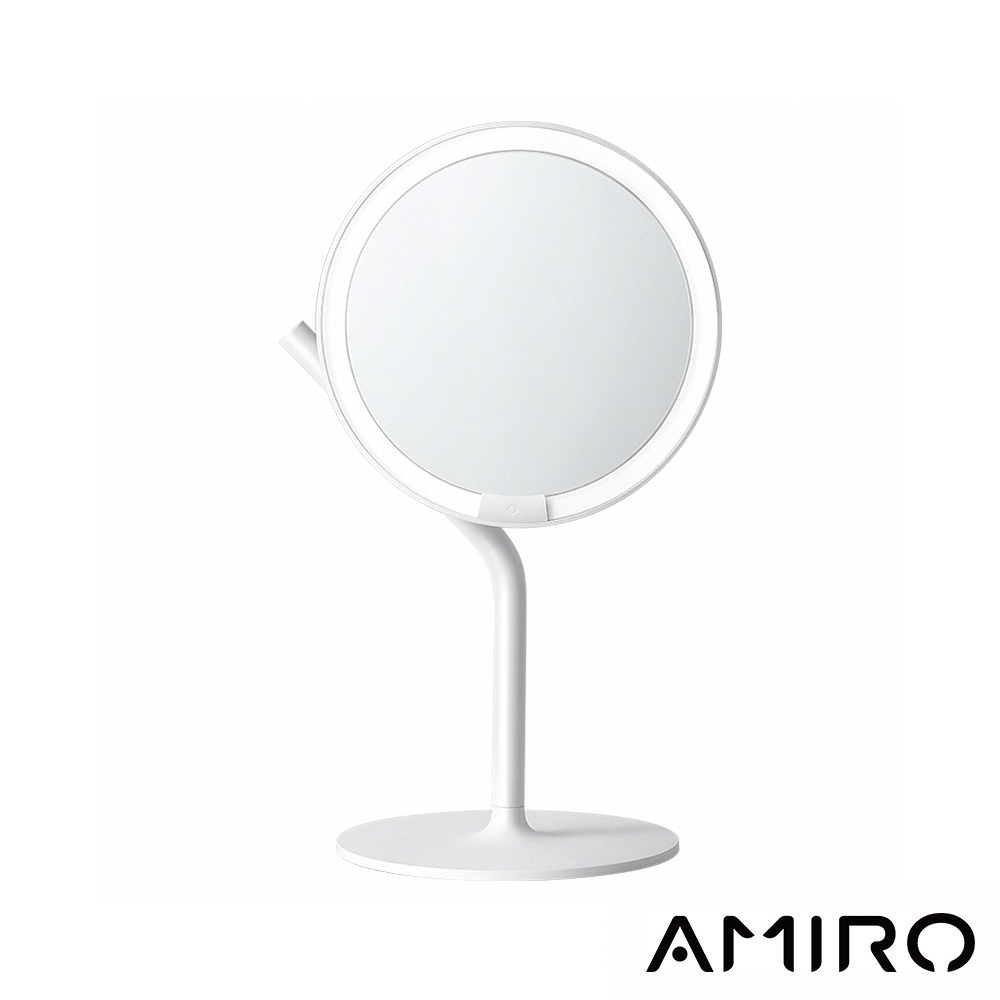 Amiro Mini 2.0 高清日光化妝鏡(小魔鏡)-輕簡白