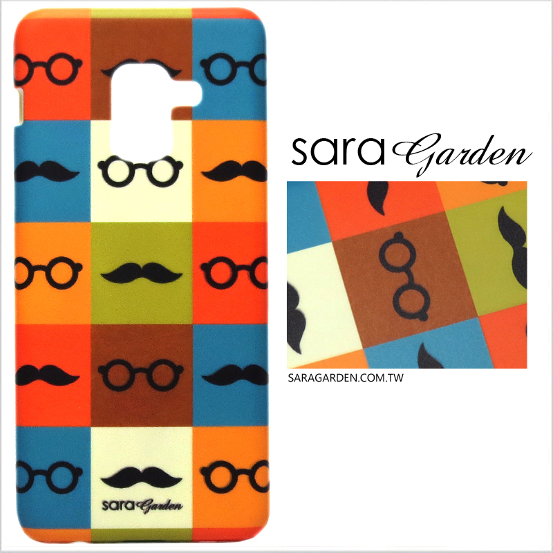 【Sara Garden】客製化 手機殼 HTC U11 撞色翹鬍子 手工 保護殼 硬殼