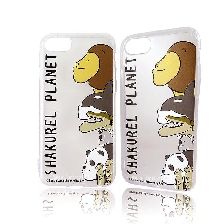 戽斗星球 iPhone 6s/7/8(4.7吋)共用防摔空壓保護殼套_獅子排排站