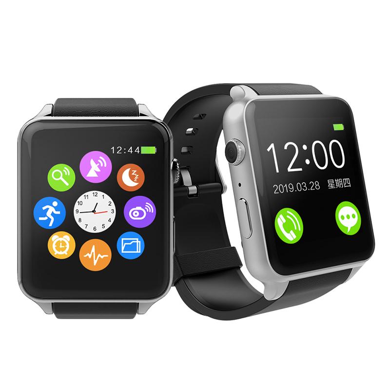 【SmartWatch】可照相金屬質感智能心率手錶S1-太空銀