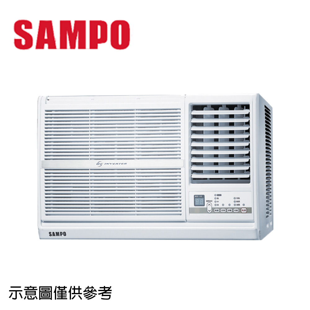【SAMPO聲寶】10-13坪變頻右吹窗型冷氣AW-PC63D