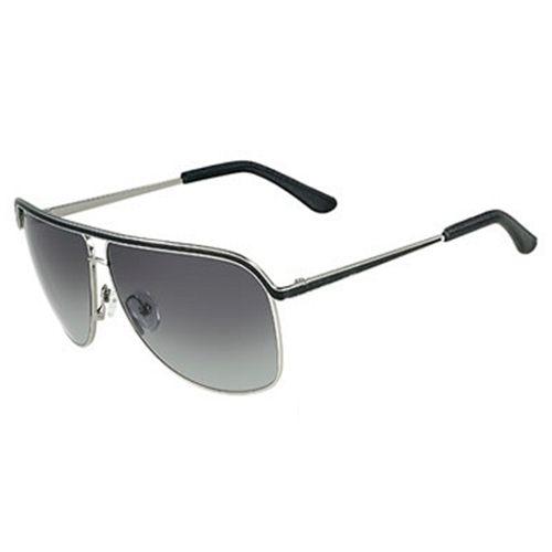 Ferragamo 雙色閃亮金屬框太陽眼鏡 SF112SL