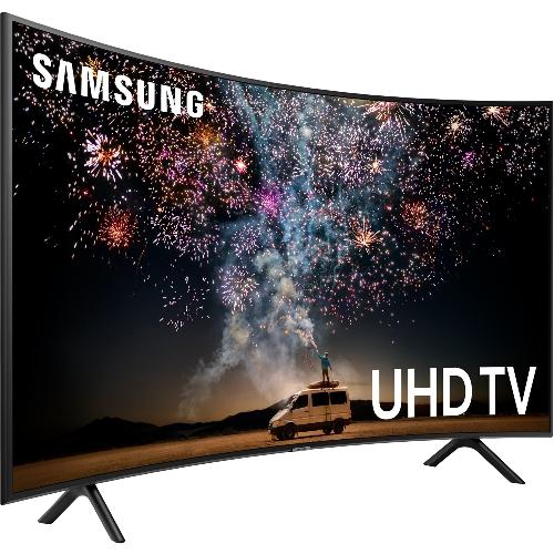 折價券★(含標準安裝)三星55吋黃金曲面電視UA55RU7300WXZW
