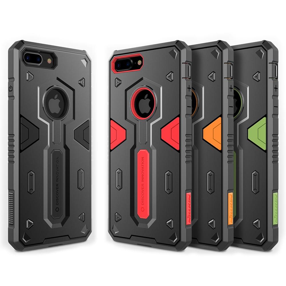 NILLKIN Apple iPhone 8 Plus 悍將 II 保護套(綠色)