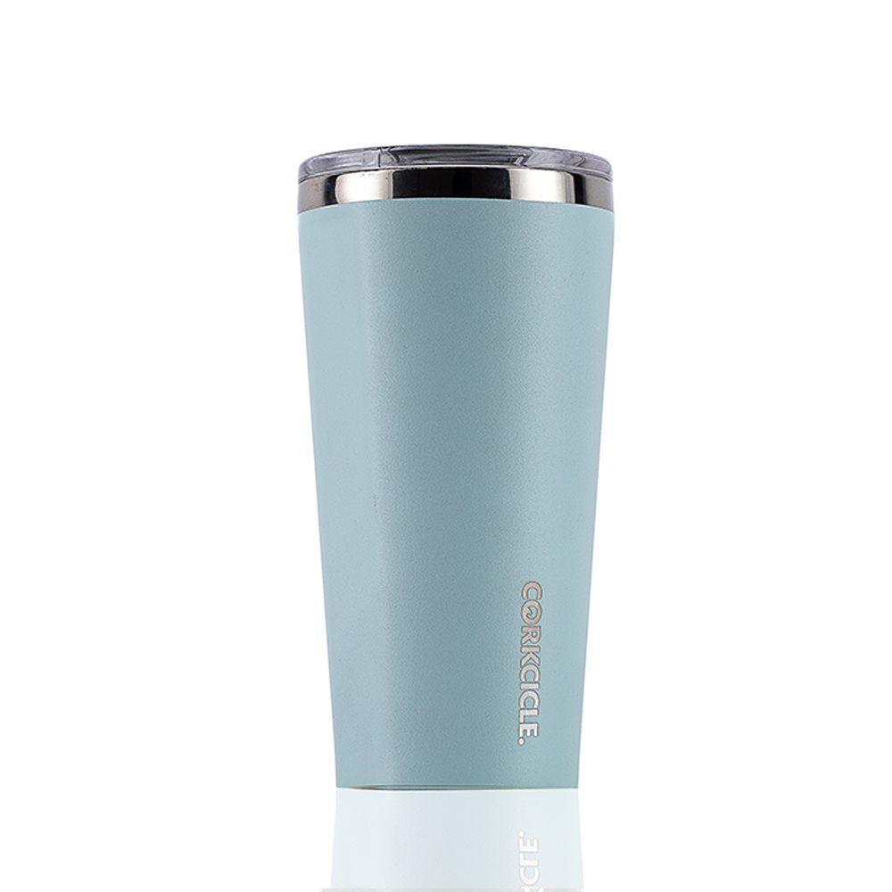 CORKCICLE 酷仕客Waterman戶外系列寬口瓶-470ml(冰河藍)