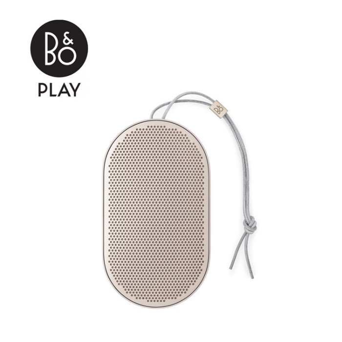 【B&O PLAY】 Beoplay P2 丹麥工藝 美學喇叭 藍芽喇叭 香檳金