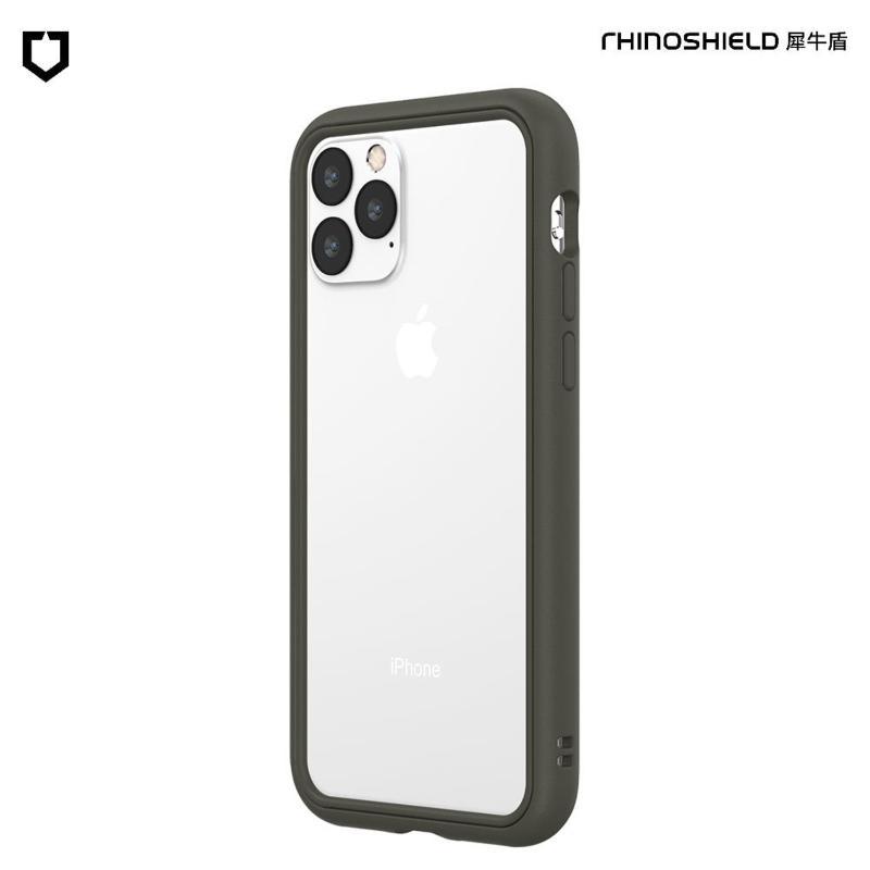 犀牛盾 CrashGuard NX防摔邊框手機殼 iPhone 11 Pro Max 6.5(2019) 泥灰