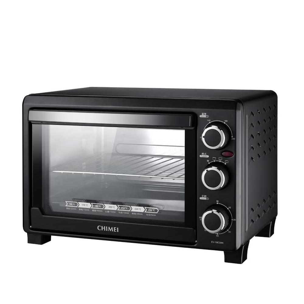 奇美18公升家用電烤箱烤箱EV-18C0AK