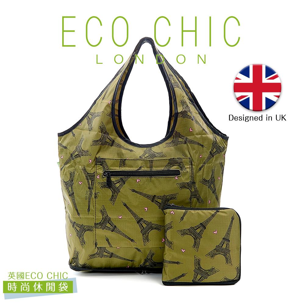 英國ECO CHIC時尚可折疊休閒袋-小巴黎