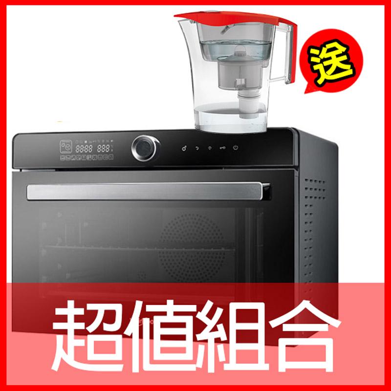 【惠而浦Whirlpool】32L全能蒸烤爐 WSO3200B (送萊卡LAICA除菌生飲壺)
