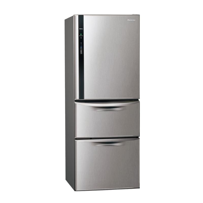 PANASONIC 468公升三門變頻鋼板電冰箱 絲紋灰 NR-C479HV-L