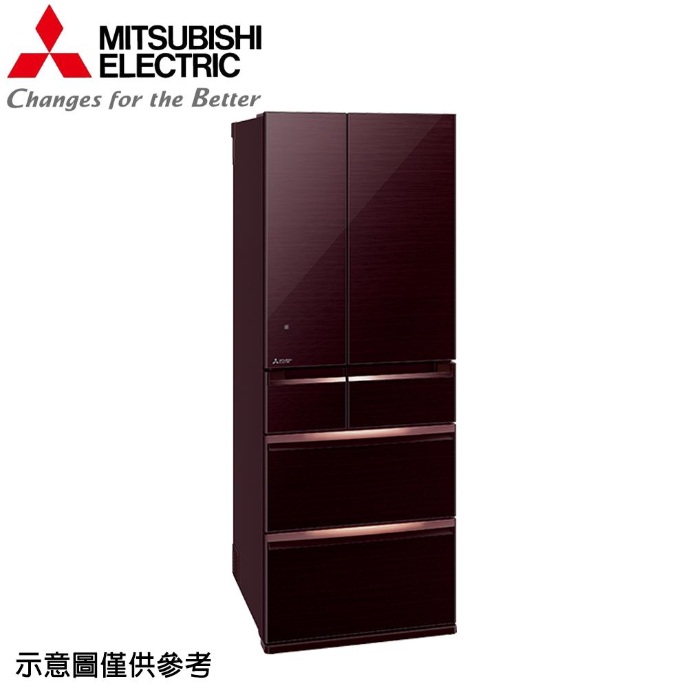 【MITSUBISHI 三菱】605公升日本原裝變頻六門冰箱MR-WX61C-P