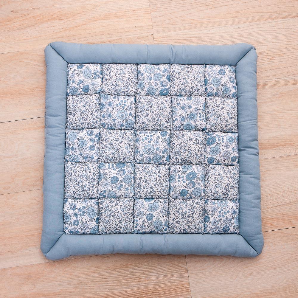 靛藍之森椅墊45x45-生活工場