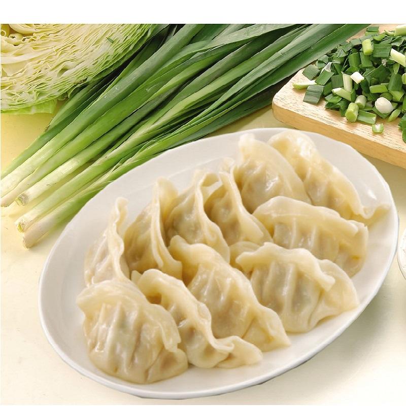 《禎祥食品》韭菜熟水餃(約100粒 1700g/包,共兩包)