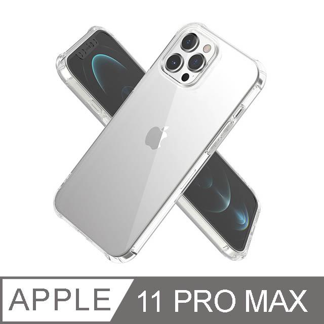 iPhone 11 Pro Max 6.5吋 BLAC全氣囊轉聲防摔iPhone手機殼 水晶透明