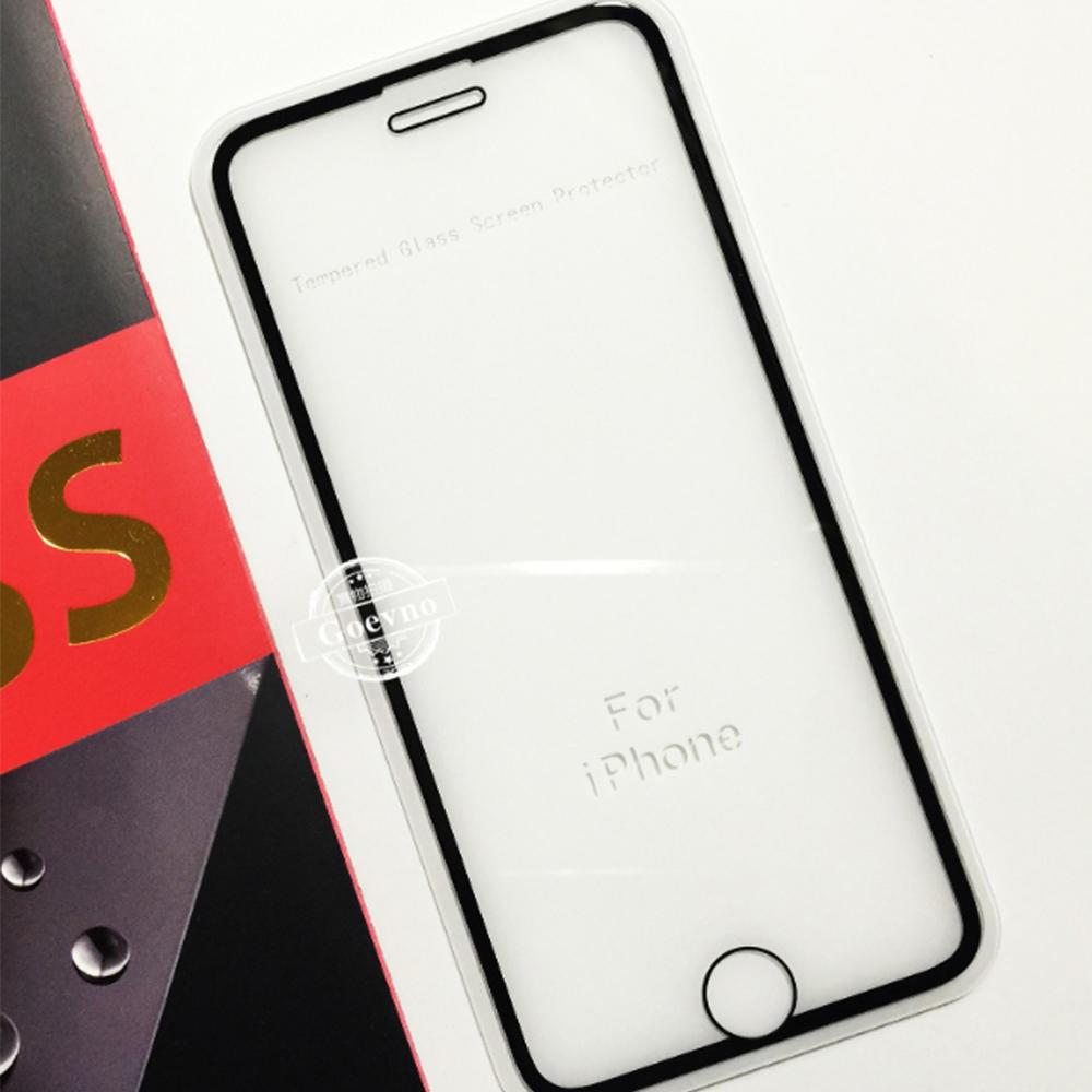 Goevno Apple iPhone SE 2020 滿版玻璃貼(黑色)