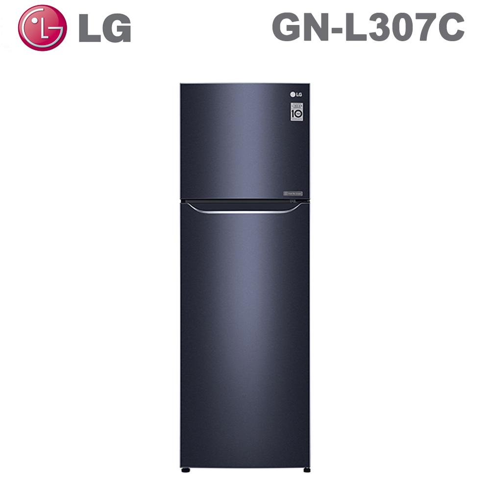 【LG 樂金】253公升直驅變頻上下門冰箱GN-L307C