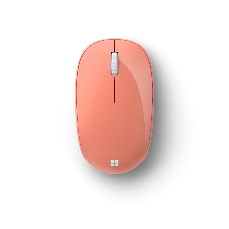 Microsoft 精巧藍牙滑鼠 蜜桃粉 RJN-00047