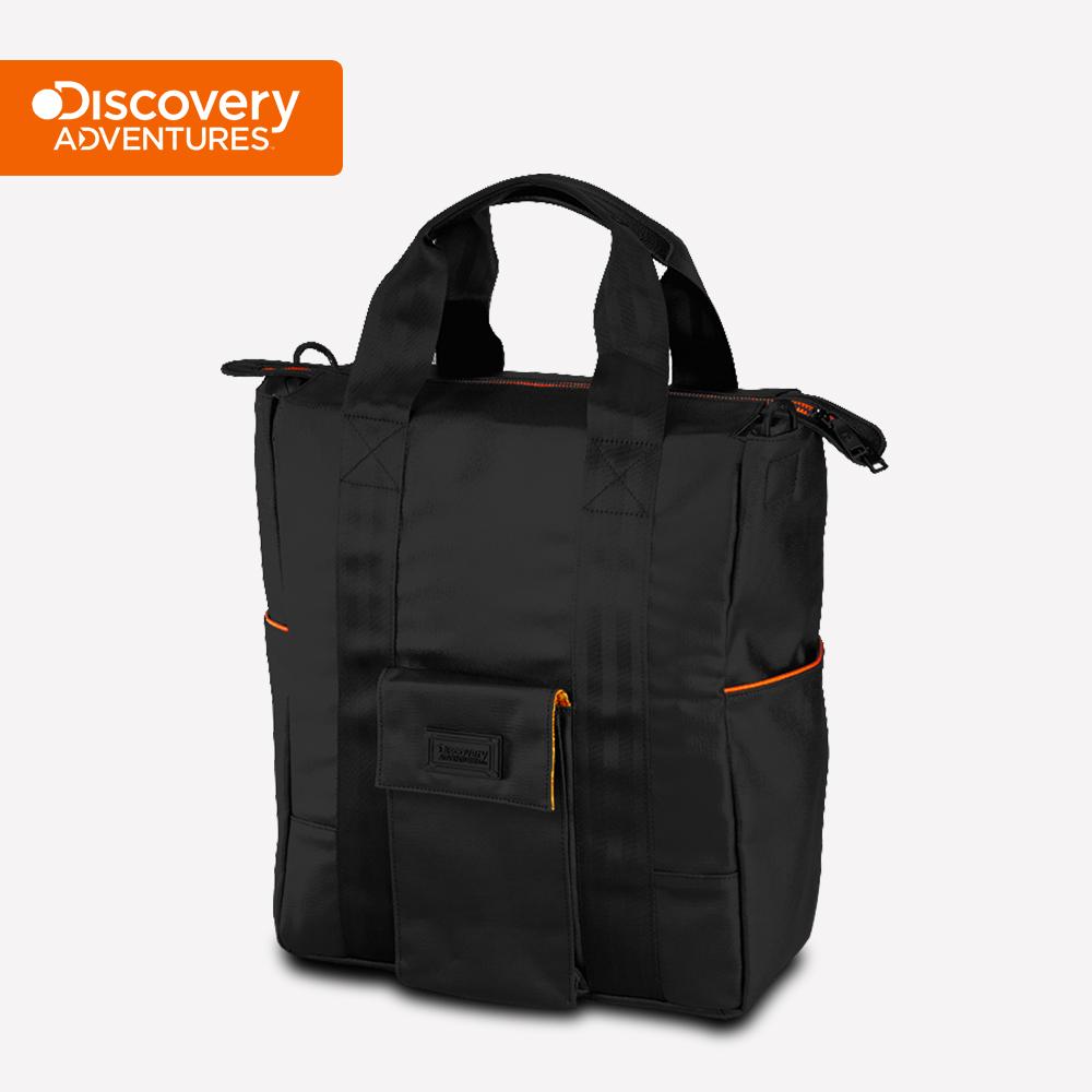 【Discovery Adventures】City直式托特包-黑色(DA-B46206-BK)