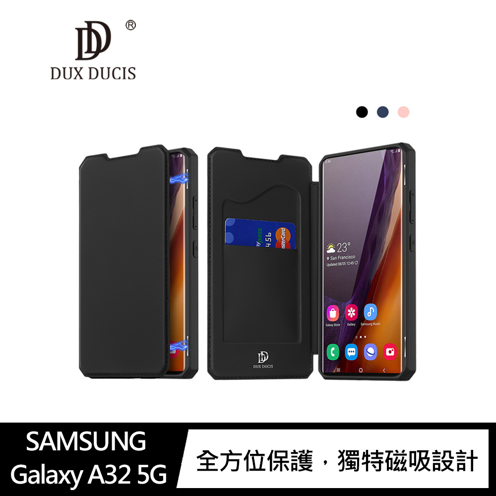 DUX DUCIS SAMSUNG Galaxy A32 5G SKIN X 皮套(黑色)