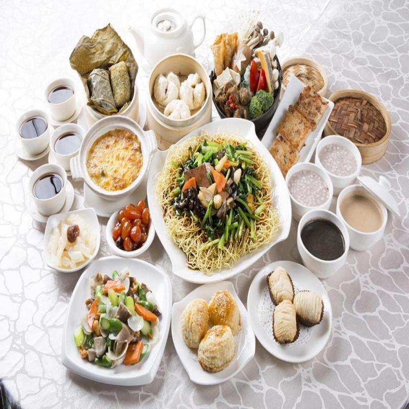 台北中山【養心茶樓】蔬食飲茶-四人午茶兌換券 (1張)