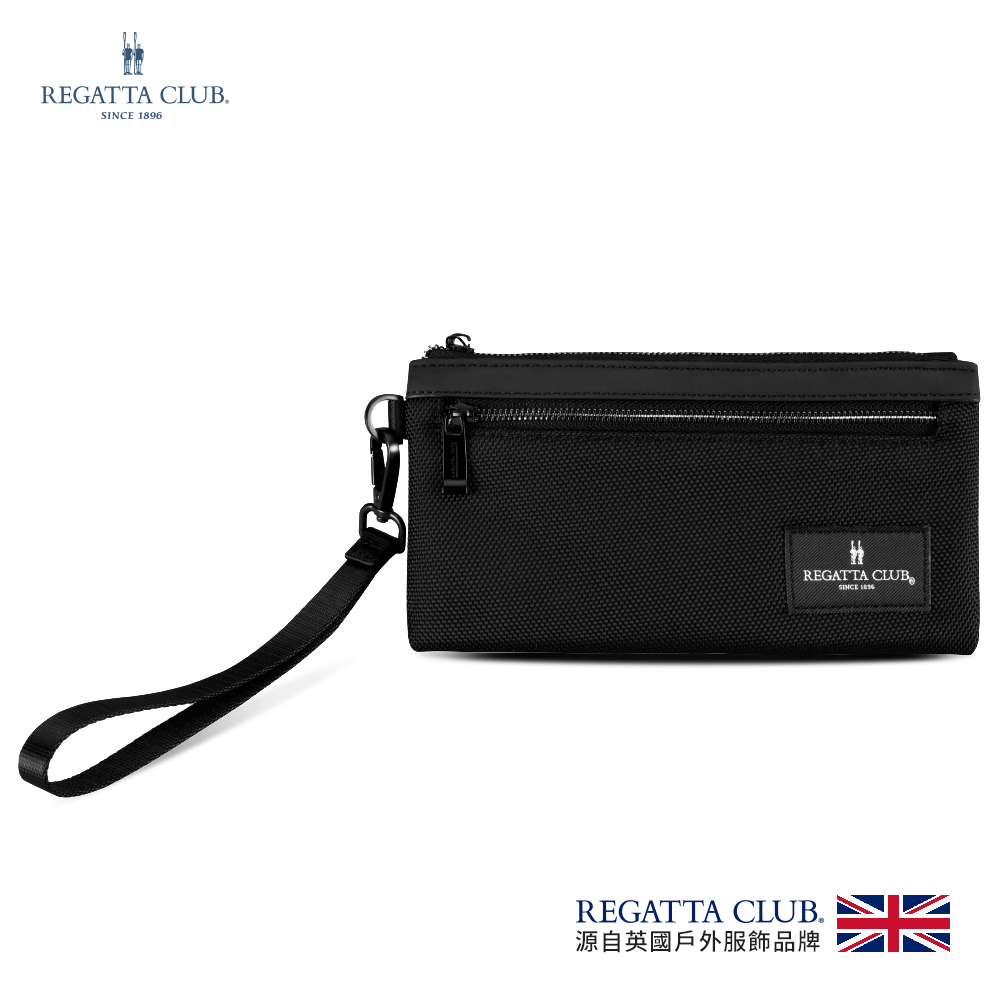 Regatta 雋永拉鍊錢包(RC-B98001-BK)
