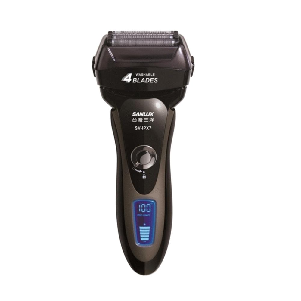 SANLUX台灣三洋電動刮鬍刀SV-IPX7