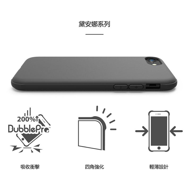 SOLiDE 黛安娜系列 iPhone 8 4.7吋 軍規耐震防摔殼 (時尚棕)
