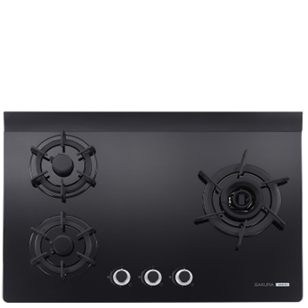 (全省安裝)櫻花三口檯面爐黑色(與G-2932AGB同款)瓦斯爐天然氣G-2932AGBN