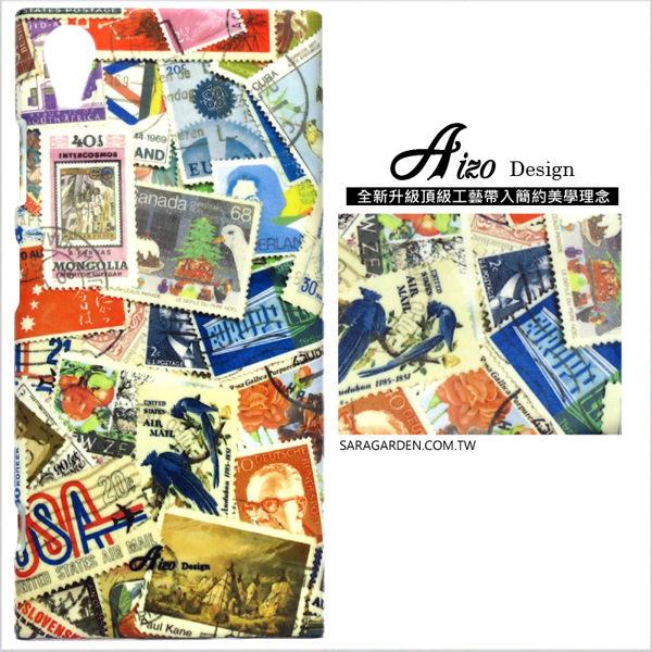 【AIZO】客製化 手機殼 SONY Z5P Z5 Premium 保護殼 硬殼 質感美國郵票