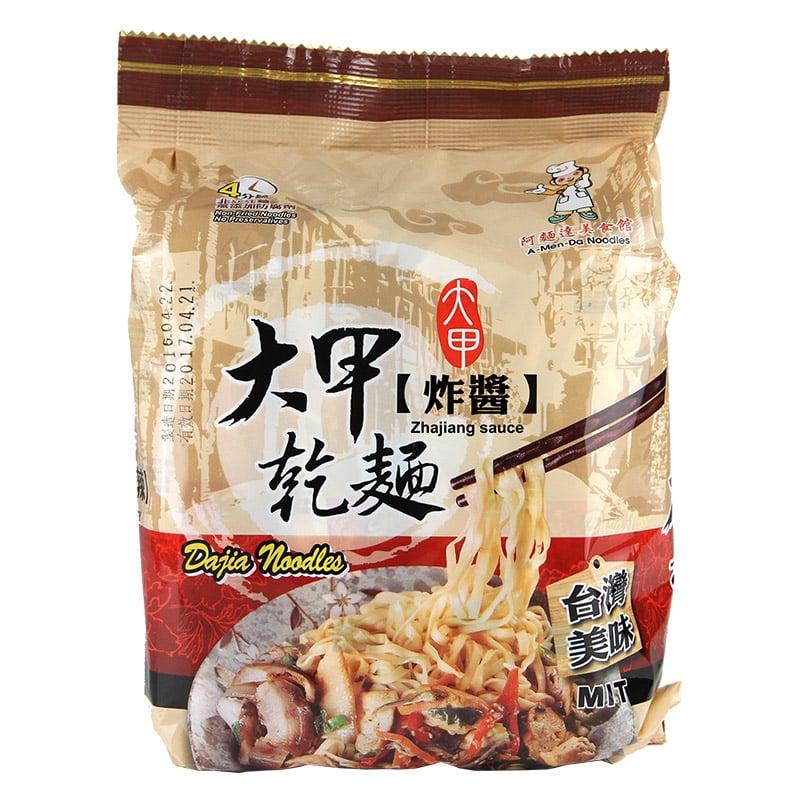 【大甲乾麵】炸醬口味(4入/袋)