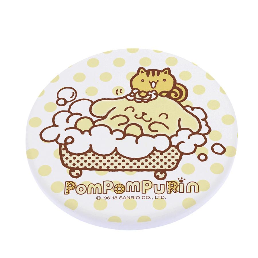 【收納王妃】三麗鷗授權布丁狗系列珪藻土吸水杯墊 (2入一組)【洗澡款】