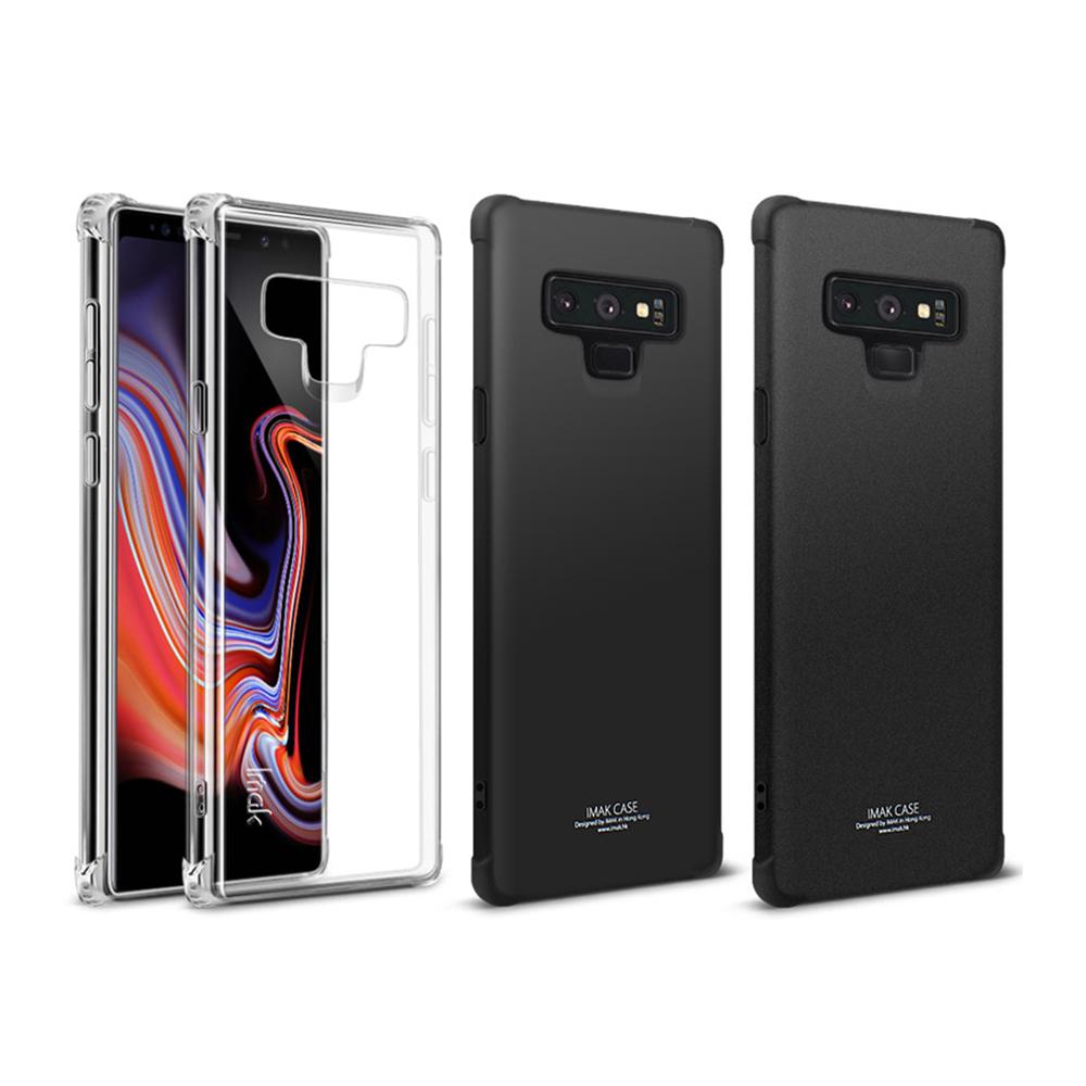 Imak SAMSUNG Galaxy Note 9 全包防摔套(氣囊)(金屬黑)
