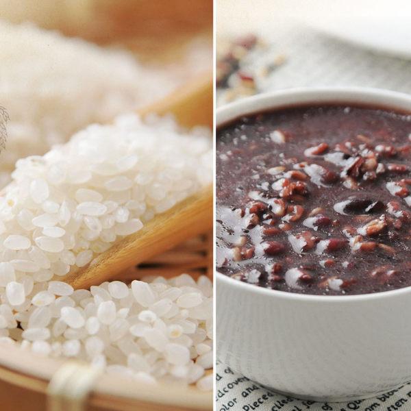 《紅藜阿祖》紅藜輕鬆包 紅豆紫米粥x3+白米x3(300g/包,共6包)
