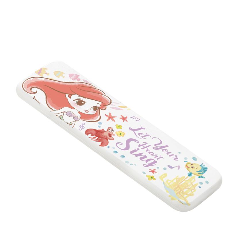 【收納王妃】迪士尼公主童話風珪藻土吸水洗漱墊-Q版愛麗兒(橫)