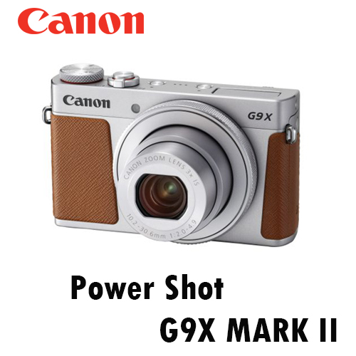 CANON Poewr Shot G9X MARK II 銀 F2.0 大光圈類單眼 公司貨