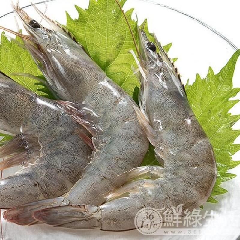 買三送一【鮮綠生活】重量級鮮活大白蝦(700g) 共4盒