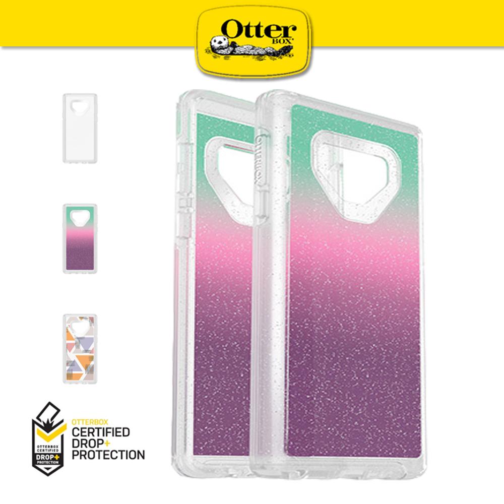 【OtterBox】Galaxy Note9 Symmetry 炫彩系列 防撞手機殼 透明繽紛