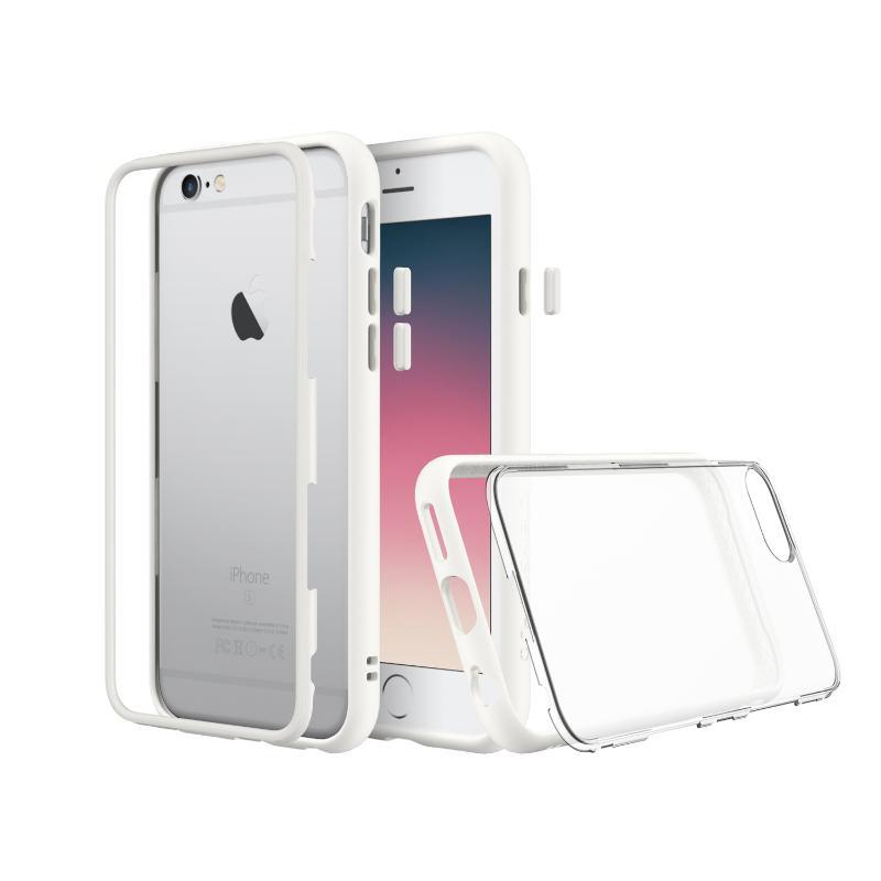 犀牛盾iPhone6s /iPhone6 MOD防摔背蓋手機殼 白