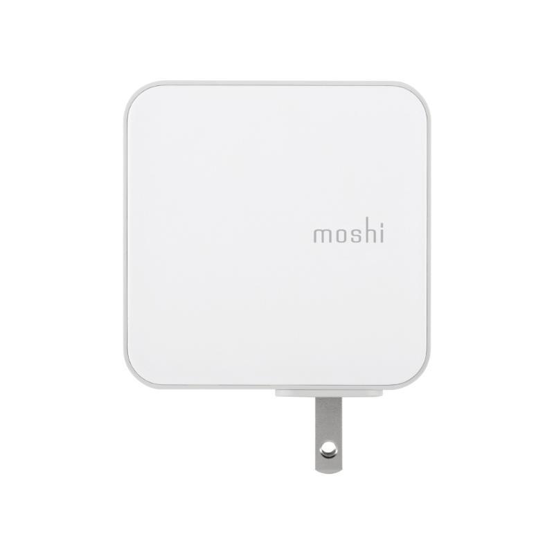 moshi ProGeo 35W 4Port旅充充電器 白
