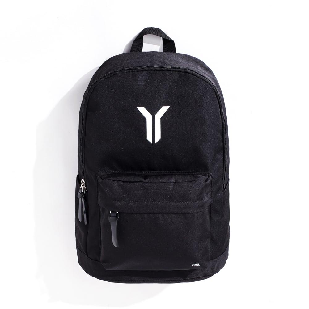 【Y.A.S】街頭潮流實用後背包-Y字款黑(PB01002)