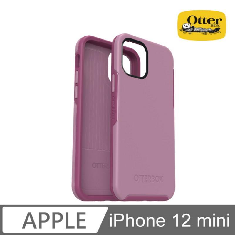 Otter Box 炫彩幾何保護殼 iPhone 12 mini (5.4) 粉紫