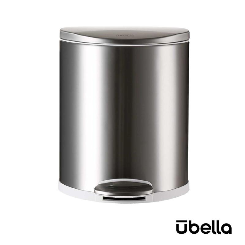 優百納8L隨享系列靜音垃圾桶不銹鋼AJ-8008SS