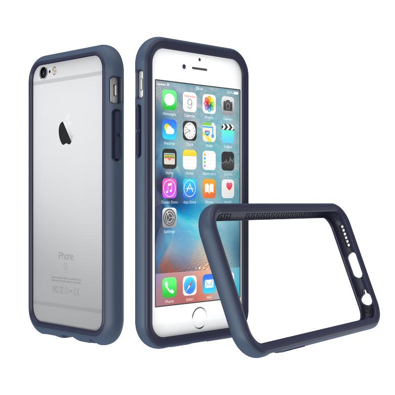 犀牛盾iPhone6s / iPhone 6防摔邊框殼 靛藍