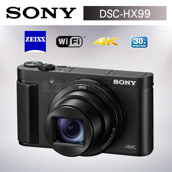 新機上市 SONY DSC-HX99 超廣角光學30倍 (公司貨)旅遊機 送原電64G高速卡大全配~