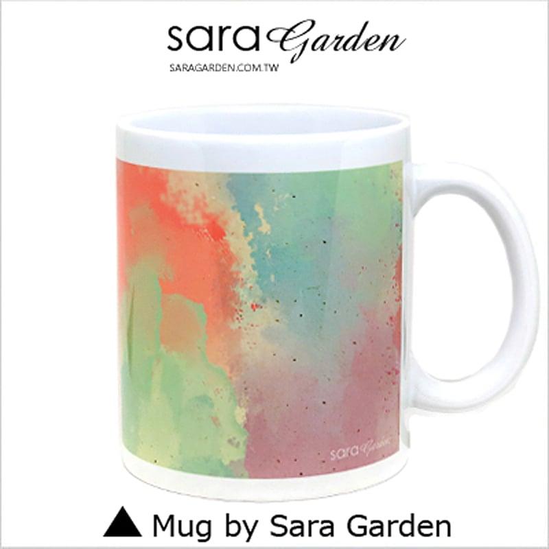 【Sara Garden】客製 手作 彩繪 馬克杯 Mug 水彩 Color 暈染 彩色 咖啡杯 陶瓷杯 杯子 杯具 牛奶杯 茶杯